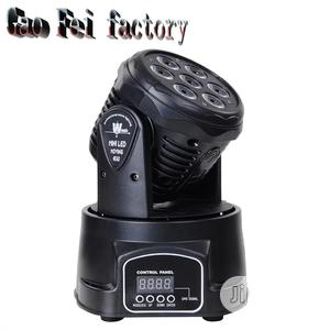 Mini LED DMX Gobo Moving Head Spot Light Club DJ Stage Light | Stage Lighting & Effects for sale in Lagos State, Lekki