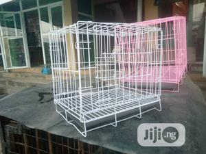 Size One Of The Collapsible Dog Cage Available Now | Pet's Accessories for sale in Lagos State, Surulere