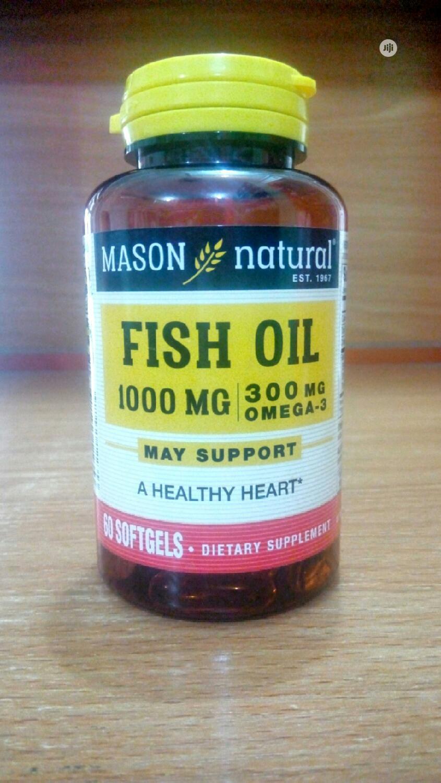 Mason Natural Fish Oil 1000mg/300mg Omega 3 X 60