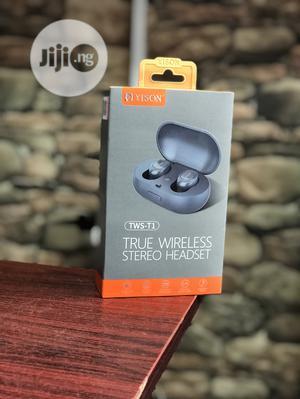 TWS-T1 True Wireless Stereo Headset | Headphones for sale in Lagos State, Ikeja