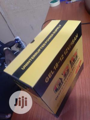 12v 18ah Gbm Battery Is Available | Solar Energy for sale in Lagos State, Ojo