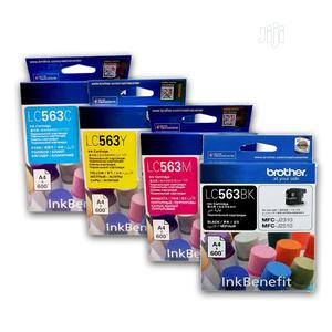 Brother LC563BK & CYM Genuine Ink Cartridges | Accessories & Supplies for Electronics for sale in Lagos State, Lagos Island (Eko)