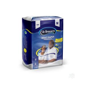 Dr Brown Dr.Brown Adult Diaper (10 Pacs Per Bag),Meduium | Bath & Body for sale in Lagos State, Agege