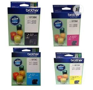 Brother Lc673 Ink Cartridge Set | Accessories & Supplies for Electronics for sale in Lagos State, Ikeja
