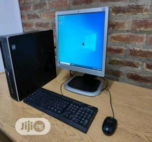 Desktop Computer HP 2GB Intel Core 2 Duo HDD 250GB | Laptops & Computers for sale in Lagos State, Ikeja