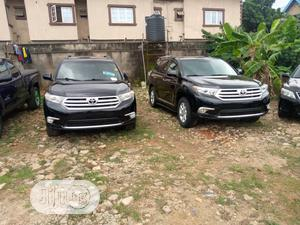 Toyota Highlander 2012 Black   Cars for sale in Lagos State, Isolo