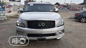 Infiniti QX 2015 Silver   Cars for sale in Lagos State, Ajah