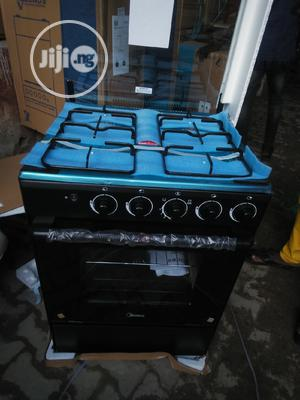 Midea 60x60 4burners Gas Cooker With Two Years Warranty. | Kitchen Appliances for sale in Lagos State, Ojo