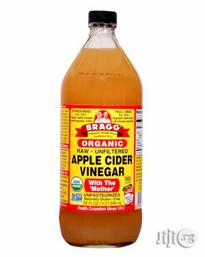 Organic Raw Filtered Apple Cider Vinegar-32 FL OZ (Big Size)   Vitamins & Supplements for sale in Lagos State, Magodo