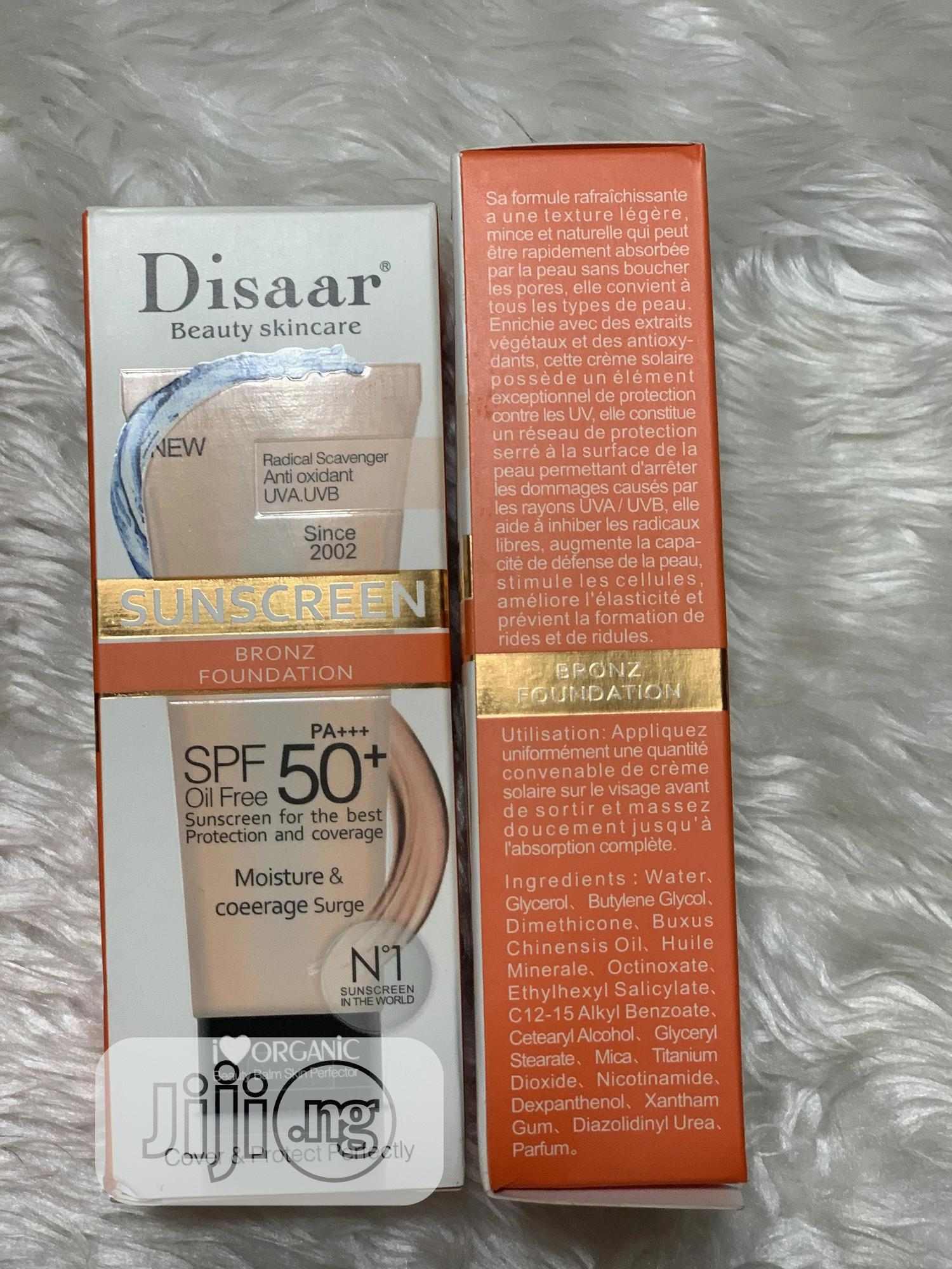Sunscreen Bronz Foundation   Makeup for sale in Abule Egba, Lagos State, Nigeria
