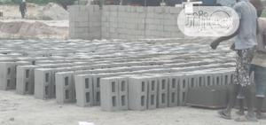 Vibrated Cement Building Blocks, 9 Inches And 6 Inches   Building Materials for sale in Lagos State, Lekki