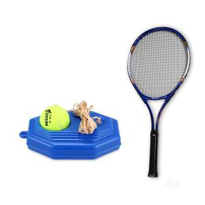 Solo Lawn Tennis Trainer + Racket | Sports Equipment for sale in Lagos State, Ikeja