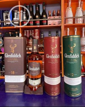 Glenfiddich 15years And 18 With 12 | Meals & Drinks for sale in Lagos State, Ojo