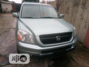 Honda Pilot 2004 EX-L 4x4 (3.5L 6cyl 5A) Blue | Cars for sale in Lagos State, Alimosho