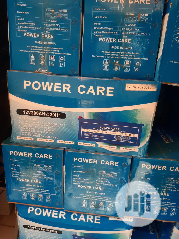12v 200ah Power Care Battery