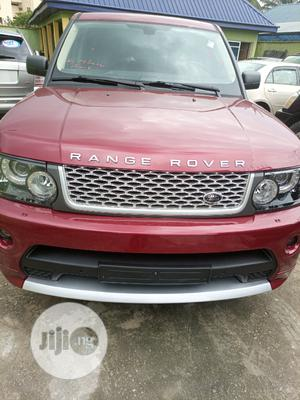 Land Rover Range Rover Sport 2008 4.2 V8 SC Red   Cars for sale in Abia State, Aba South