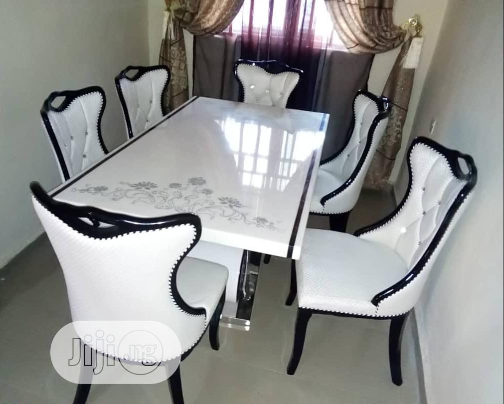 Archive: High Grade White Dining Table