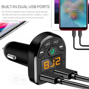 Bluetooth 5.0 FM Transmitter Car Kit MP3   Vehicle Parts & Accessories for sale in Lagos State, Ikoyi