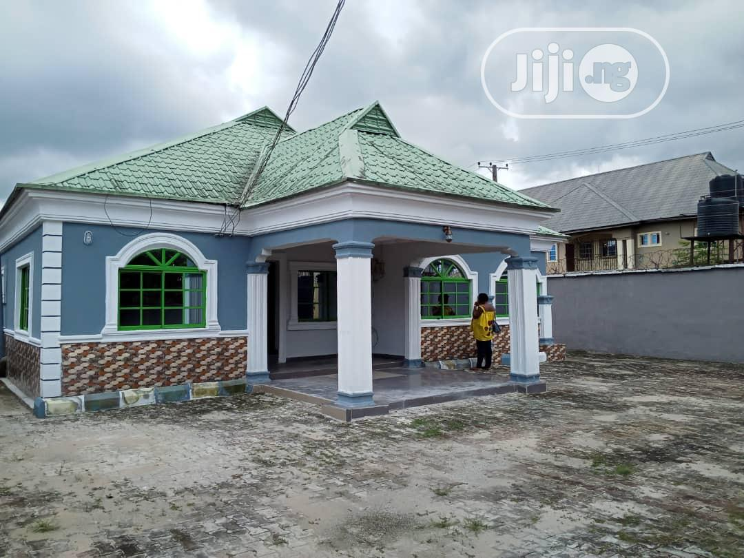 3 Bedroom Self Compound Bungalow At New Owerri