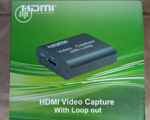 Hdmi Video Capture With Loop Out | Computer Accessories  for sale in Lagos State, Ikeja