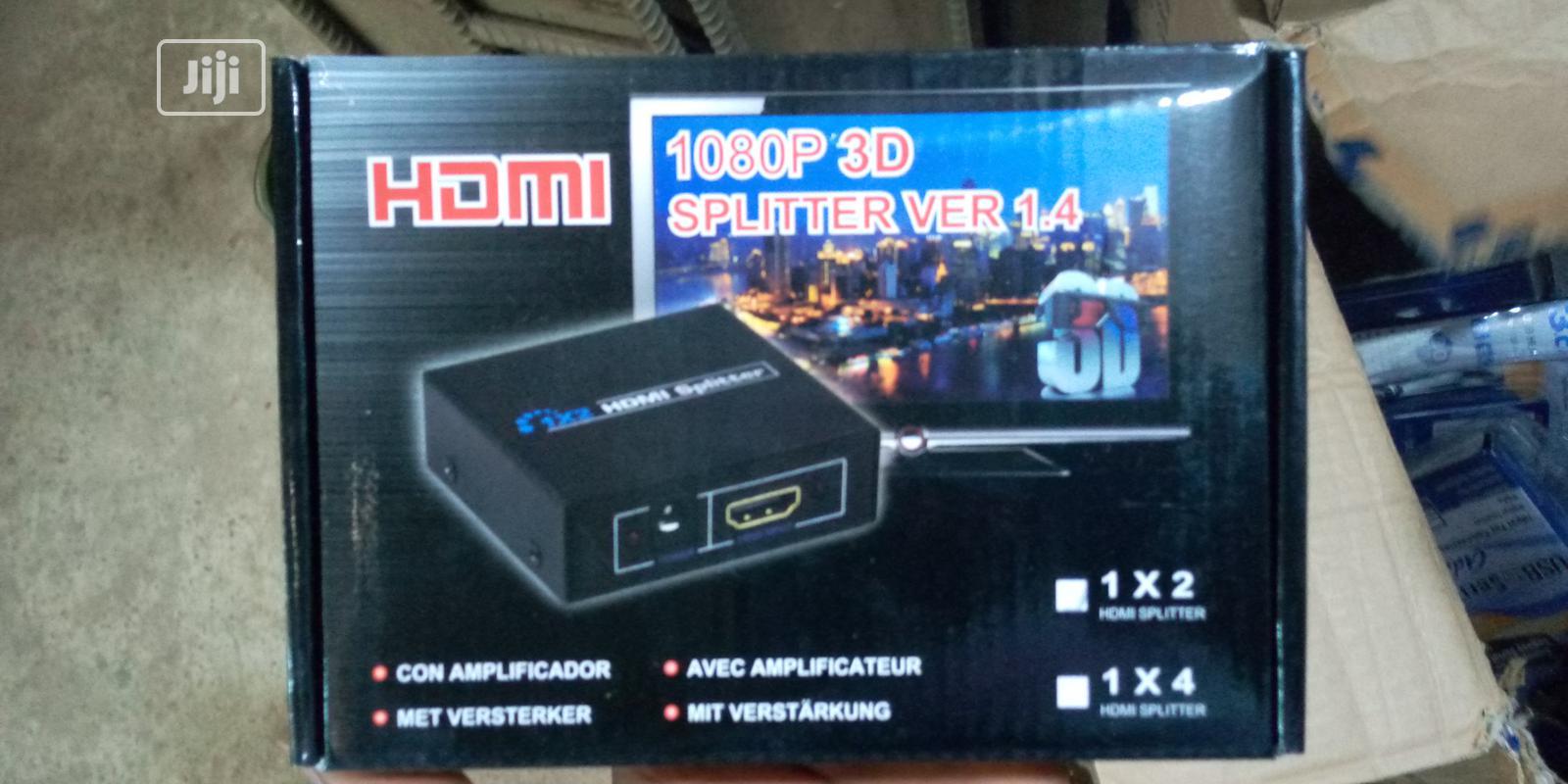 Archive: HDMI 1080P 3D Ver 1.4 Splitter