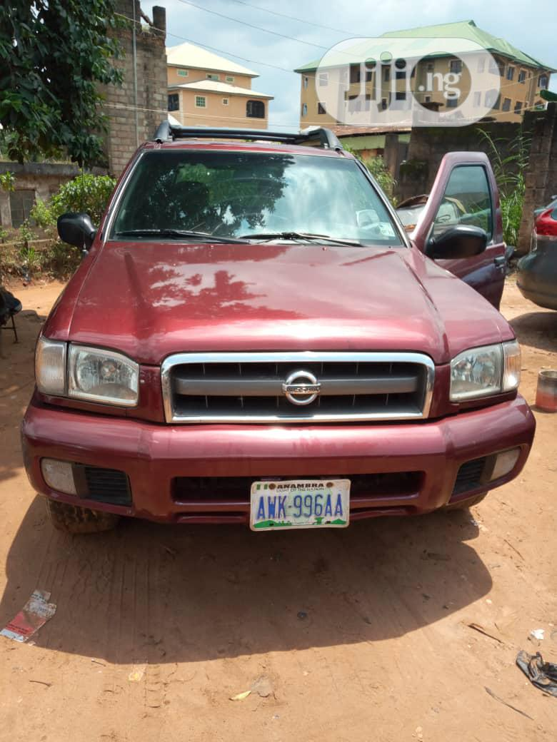 Nissan Pathfinder 2003 LE AWD SUV (3.5L 6cyl 4A) Red
