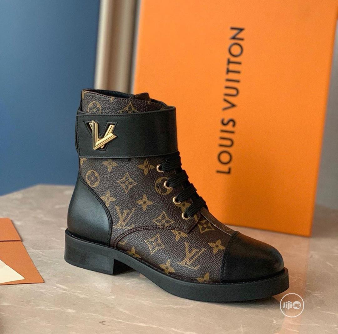 High Quality Louis Vuitton Boots for Female