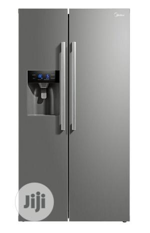 Brand New MIDDEA Side By Side,620L/External Compresor/Silver | Kitchen Appliances for sale in Lagos State, Ojo