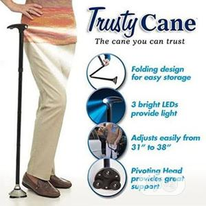 Walking Stick With Led Light Adjustable Height Folding   Tools & Accessories for sale in Lagos State, Surulere