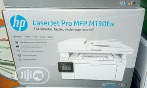 HP Laserjet Pro Mfp M130fw Printer - Black & White   Printers & Scanners for sale in Lagos State, Ikeja