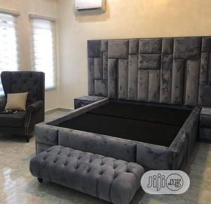 King Size Upholstery Bed   Furniture for sale in Lagos State, Ojo