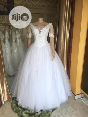 Wedding Dress For Rent With Veil,Tiara,Bouquet &Underbasket | Wedding Venues & Services for sale in Lagos State, Magodo