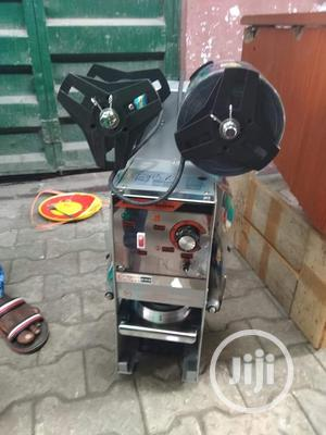 Automatic Cup Sealing Machine | Manufacturing Equipment for sale in Lagos State, Alimosho