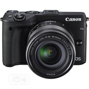 Mint Canon EOS M3 With 18 - 55mm Video Camera | Photo & Video Cameras for sale in Lagos State, Ikeja