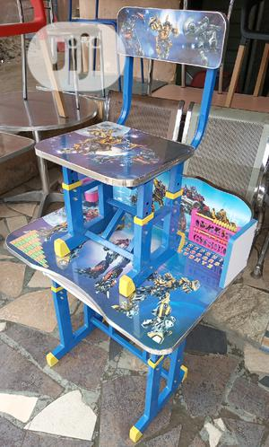 Good Quality Adjustable Children Reading Table And Chair   Children's Furniture for sale in Abuja (FCT) State, Wuse 2