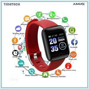 Smart Bracelet Watch Sustained Heart Rate .BP Monitoring | Smart Watches & Trackers for sale in Rivers State, Port-Harcourt