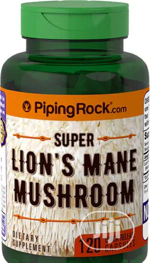 Piping Rock Super Lion's Mane Mushroom, 500 Mg, 120 Capsules   Vitamins & Supplements for sale in Lagos State, Ipaja