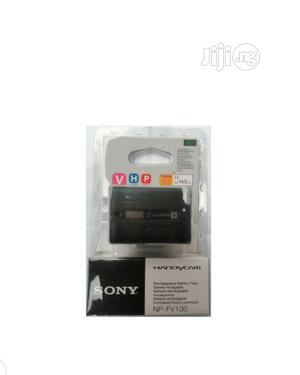 Sony NP-FV100 Rechargeable Lithium Battery Pack For Camera   Photo & Video Cameras for sale in Lagos State, Ikeja