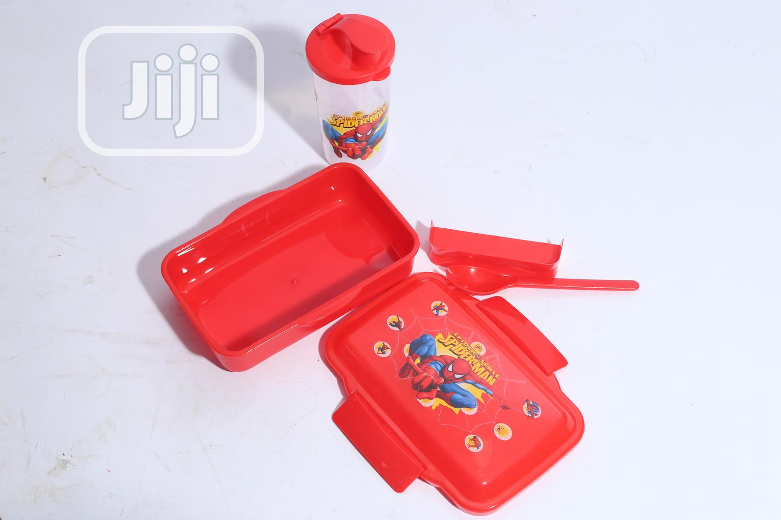 Spider Man Lunchbox With Cup | Babies & Kids Accessories for sale in Alimosho, Lagos State, Nigeria