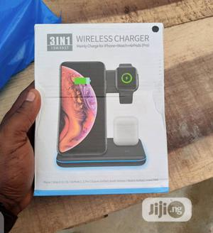 3 In 1 Fast Wireless Charger   Accessories for Mobile Phones & Tablets for sale in Lagos State, Ikeja
