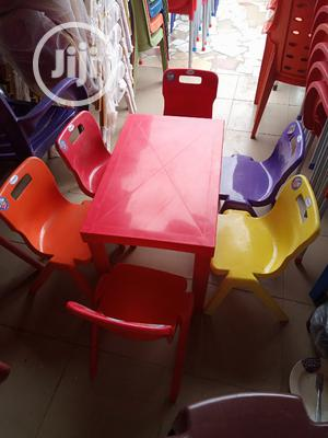 New Arrival Plastic Children's Table With Chairs   Children's Furniture for sale in Lagos State, Lekki