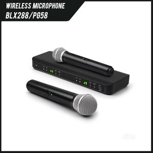 Shure BLX 288 Dual Powerful Wireless Microphone   Audio & Music Equipment for sale in Lagos State, Ikeja