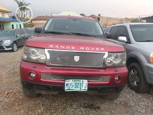 Land Rover Range Rover Sport 2006 HSE 4x4 (4.4L 8cyl 6A) Red   Cars for sale in Lagos State, Ogudu
