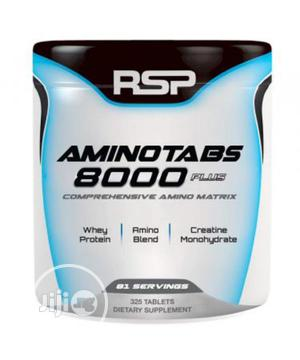 RSP Aminotabs 8000 Plus ,Comprehensive Amino Matrix 235 Tabs | Vitamins & Supplements for sale in Lagos State, Yaba