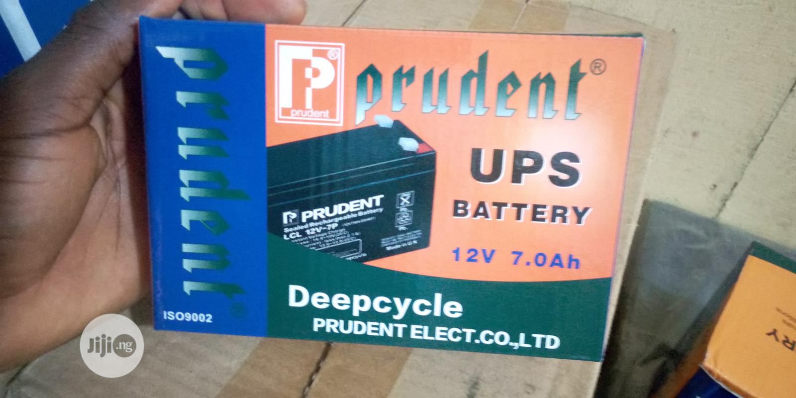 Archive: Prudent Rechargeable Lead Acid Battery Backup 12v 7ah