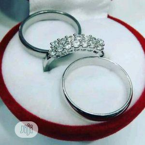 Silver Wedding Ring Set | Wedding Wear & Accessories for sale in Lagos State, Surulere