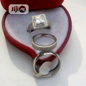 Italian Silver Wedding Ring Set | Wedding Wear & Accessories for sale in Lagos State, Surulere