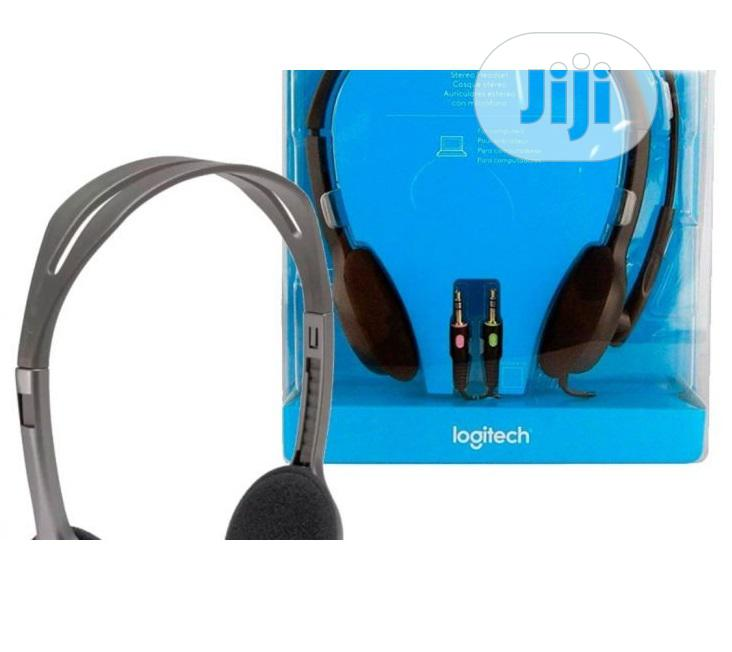 Logitech Stereo Headset | Headphones for sale in Ikeja, Lagos State, Nigeria