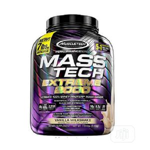 Muscletech Masstech Extreme 2000 Mass Gainer Vanilla 7lbs   Vitamins & Supplements for sale in Lagos State, Amuwo-Odofin