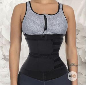 Double Strap Latex Waist Trainer | Clothing Accessories for sale in Lagos State, Magodo